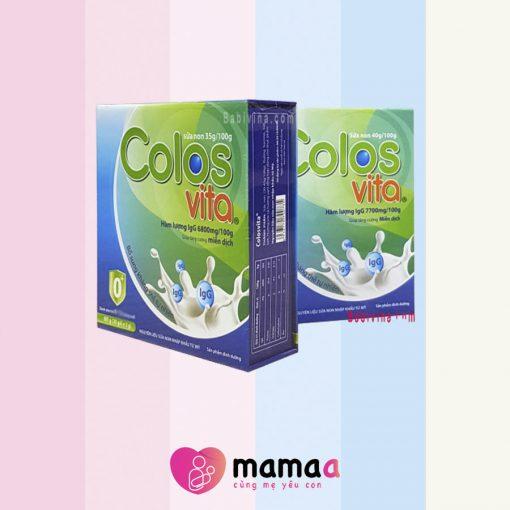 thành phần của sữa non colosvita
