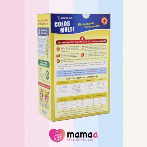 cách pha Mama sữa non colos multi a1