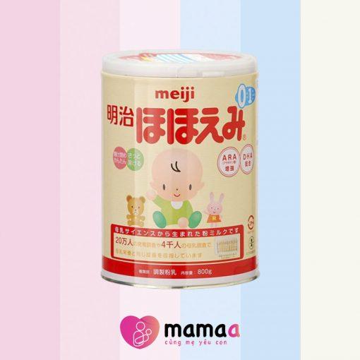 Sữa non Meiji cho trẻ sinh non