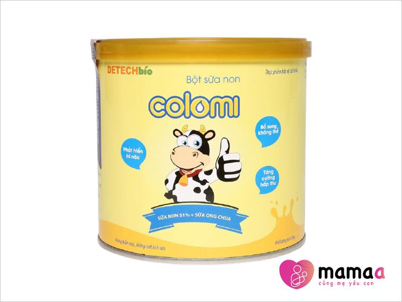 Sữa non Colomi dành cho trẻ biếng ăn