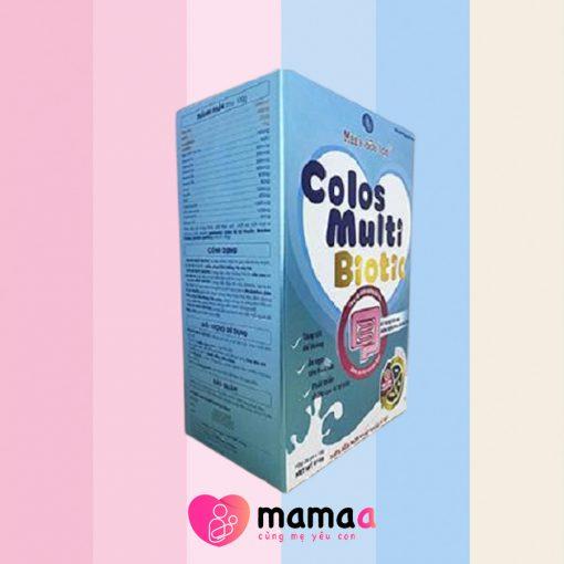 Cách pha sữa non Colos Multi Biotic