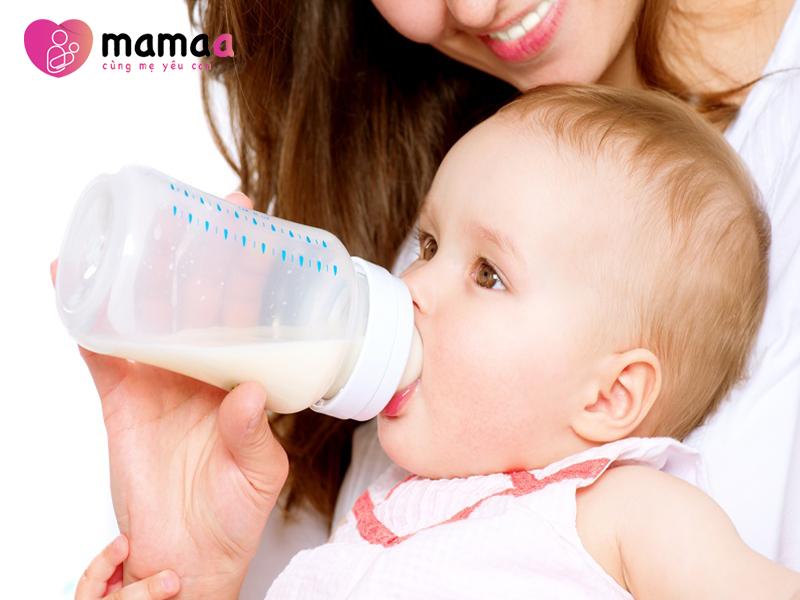 Cho trẻ uống sữa non ILDong số 1