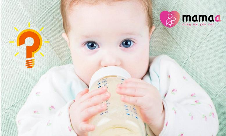 Có nên dùng Mama sữa non cho trẻ sơ sinh?