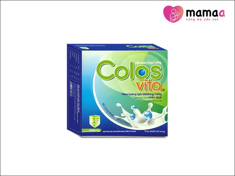 Sữa non Colosvita cho trẻ em từ 1-6 tuổi