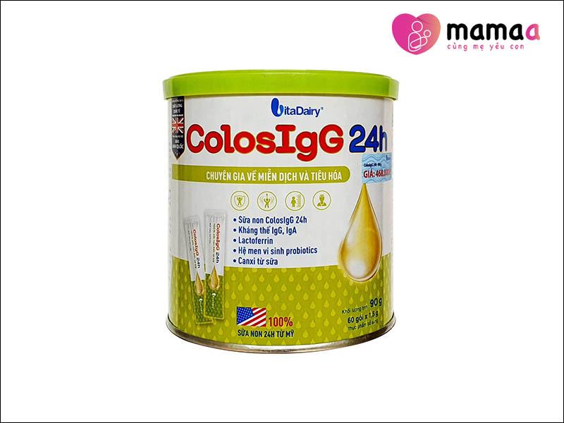 Sữa non cho trẻ sơ sinh của Mỹ ColosIgG24h