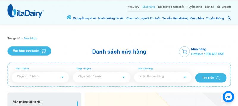 Tìm kiếm VitaDairy