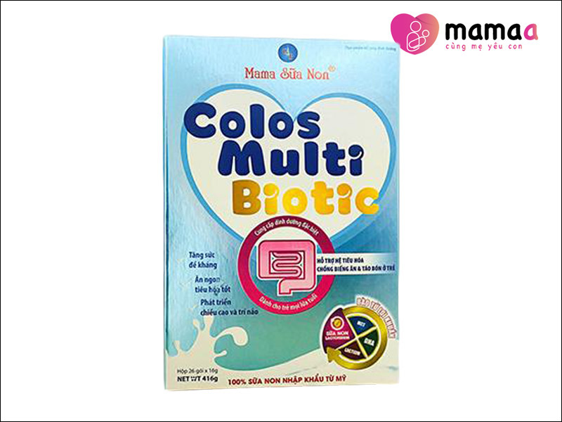 Mama Sữa non Colos Multi Biotic