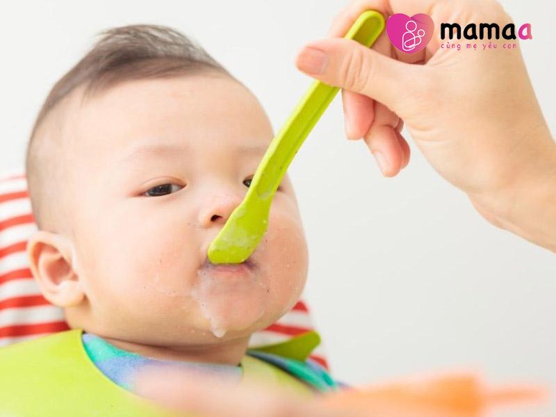 Mama sữa non giúp bé ăn ngon miệng