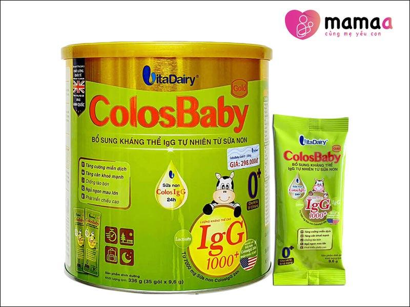 Sữa non Colosbaby cho trẻ biếng ăn