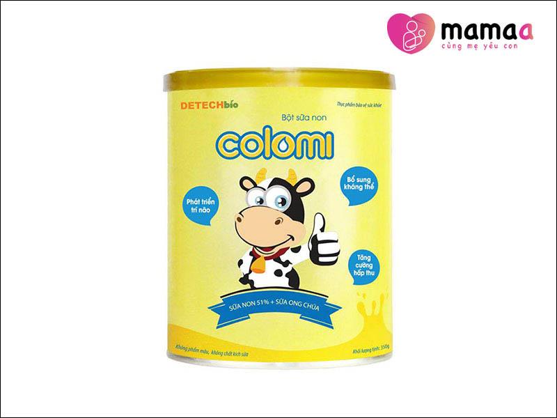 Sữa non Mỹ cho trẻ sơ sinh Colomi