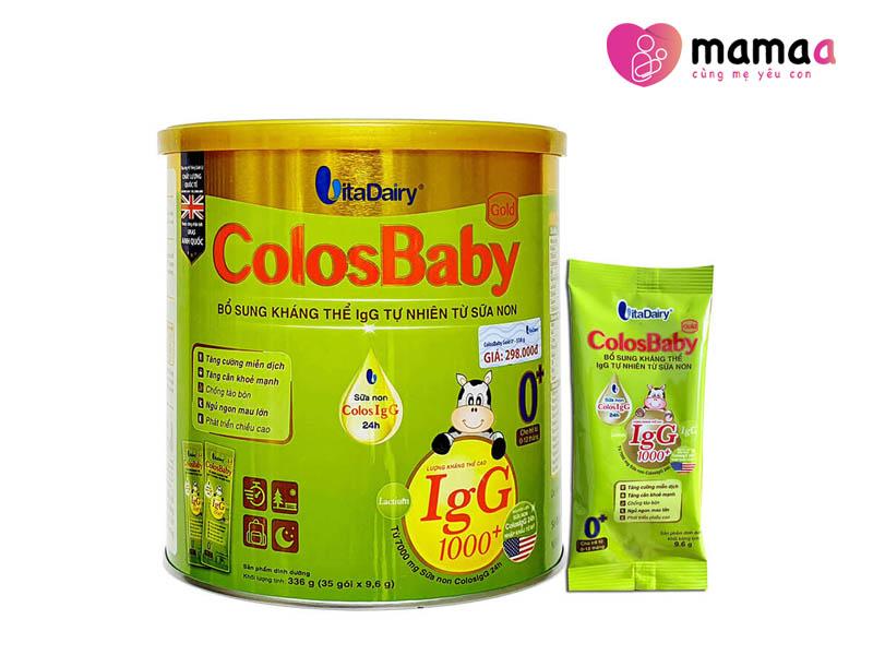 Sữa non Colosbaby tăng cân cho trẻ