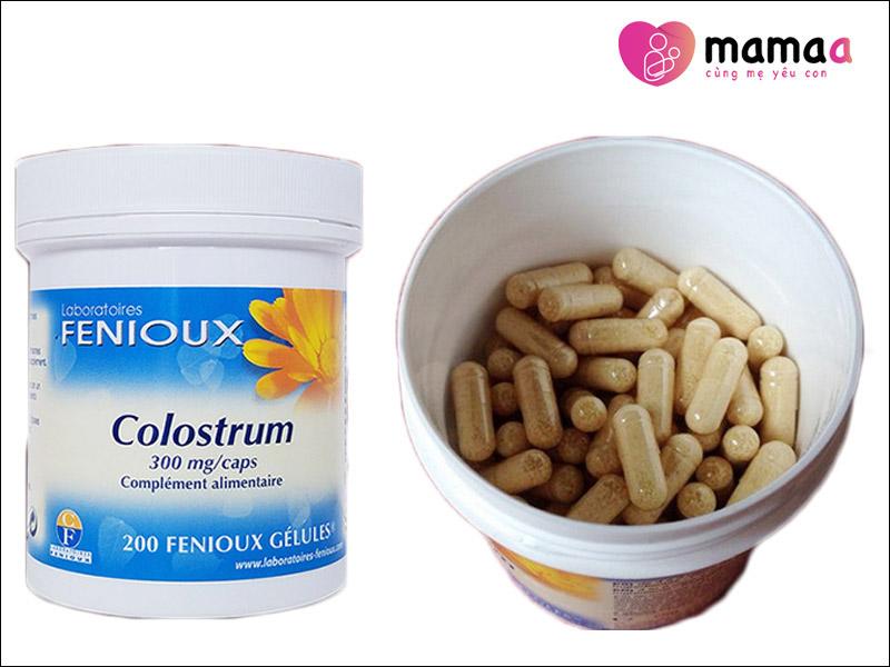 Sữa non viên cao cấp Fenioux Colostrum