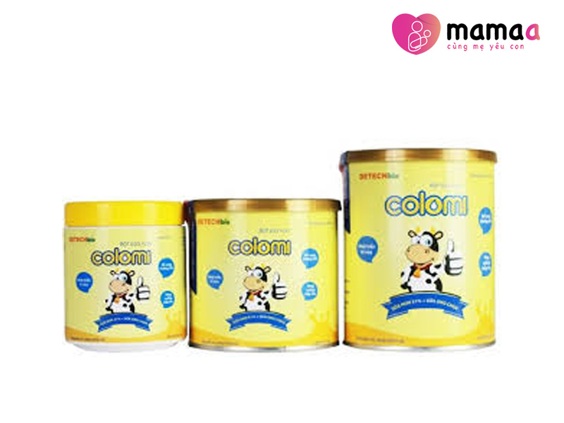 Sữa non Colomi tăng cân cho trẻ