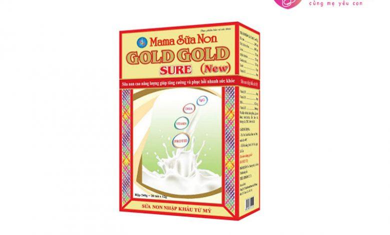 Mama sữa non cho mẹ Gold Gold Sure