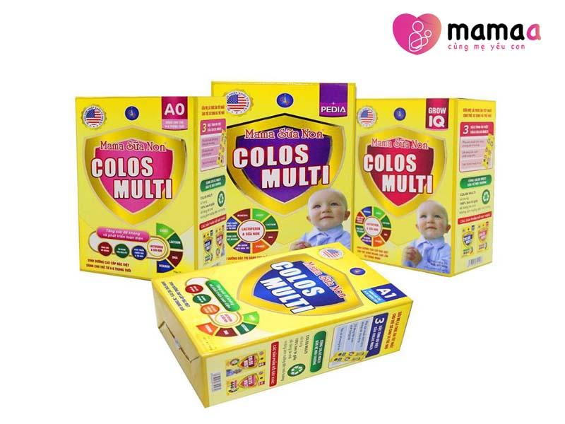 Sữa non Mama Colos Multi tăng cân cho trẻ