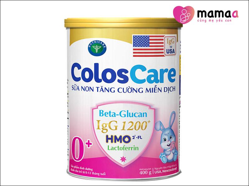 Sữa non Mỹ cho trẻ sơ sinh ColosCare