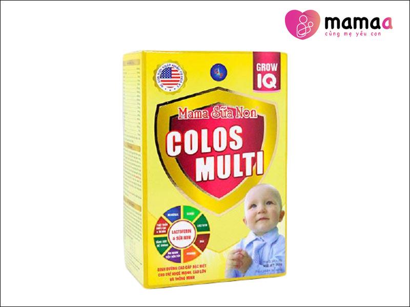 Mama Sữa Non Colos Multi Grow IQ