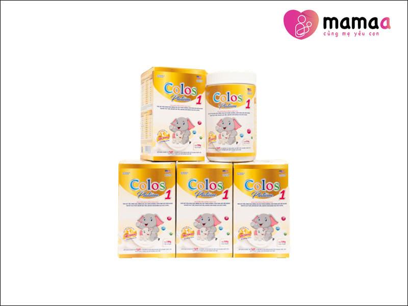 Sữa non ColosPlatinum 1 cho trẻ sơ sinh