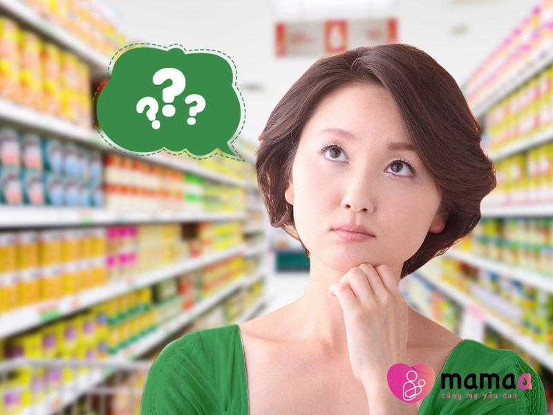 Lưu ý những gì khi chọn mua sữa non