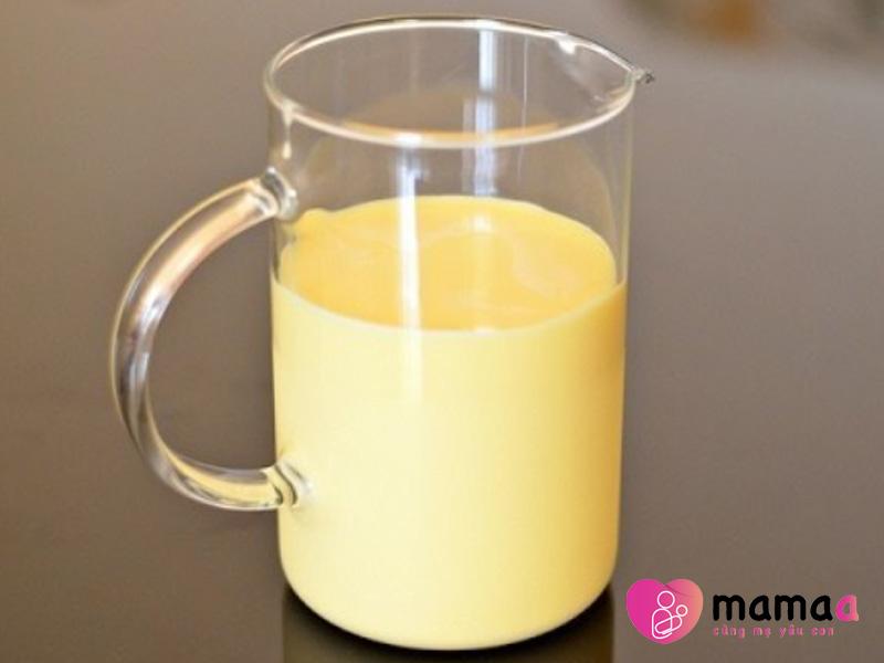 Thể chất của sữa non