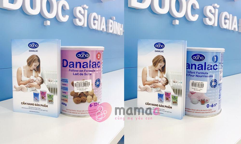 sữa non danalac 2 số