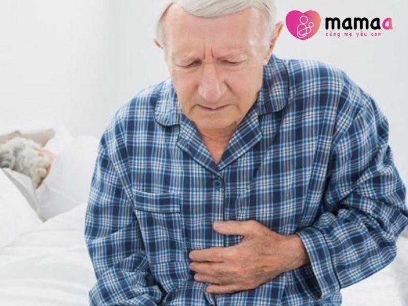 người già sức đề, hệ tiêu hóa yếu nên sử dụng sữa non Úc