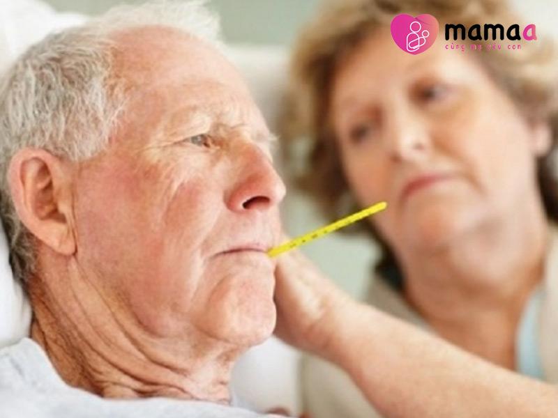 Người già mắc các bệnh mãn tính