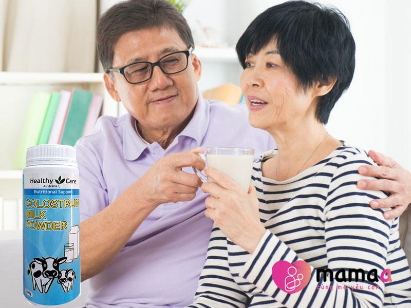 sữa non Úc cho người già