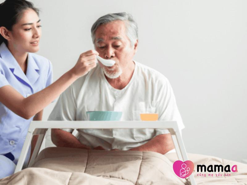 Dùng sữa non cho người mới ốm dậy