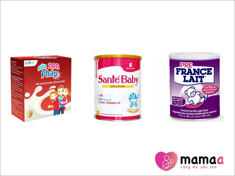 Sữa non Pháp dang bột