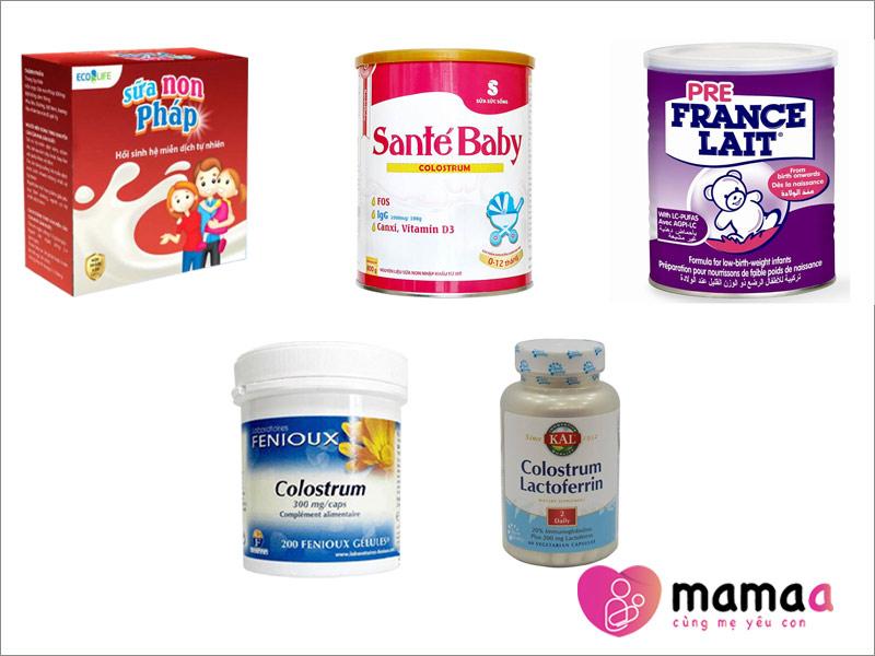Hình ảnh sữa non Pháp chính hãng có tại Mamaa