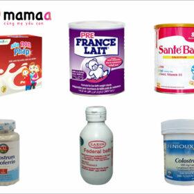 hình ảnh sữa non pháp