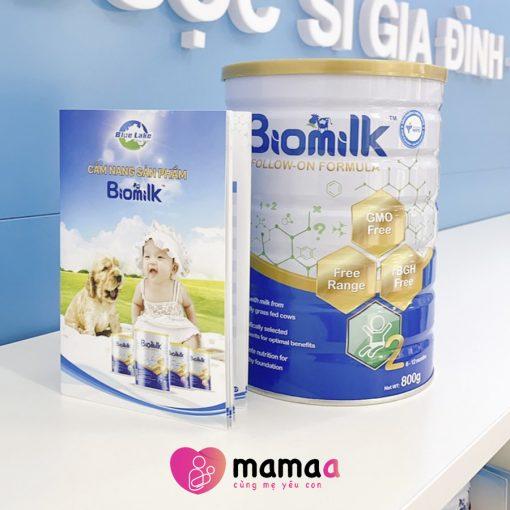Sữa bio milk Úc