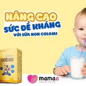 sữa non colomi có tốt không