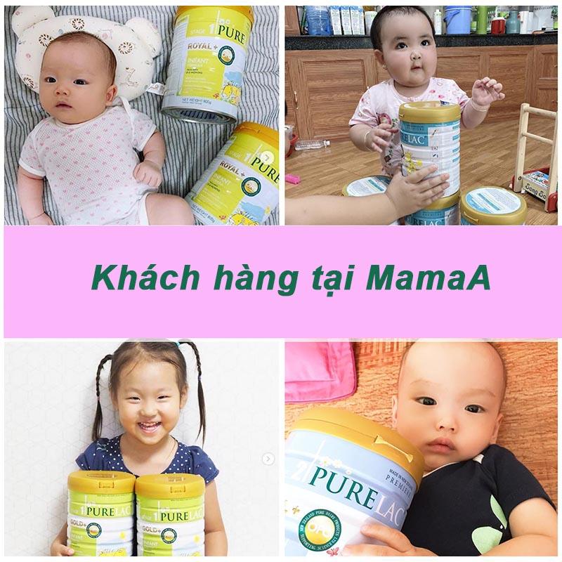review sữa purelac